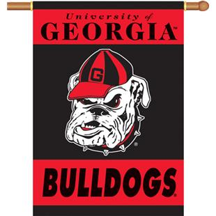 "COLLEGIATE Georgia 2-Sided 28"" x 40"" Banner"