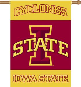 COLLEGIATE Iowa State 2-Sided 28&quot; x 40&quot; Banner