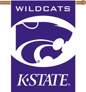 "COLLEGIATE Kansas State 2-Sided 28"" x 40"" Banner"
