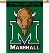 "COLLEGIATE Marshall 2-Sided 28"" x 40"" Banner"