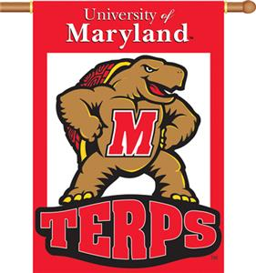 "COLLEGIATE Maryland 2-Sided 28"" x 40"" Banner"