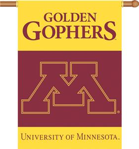 "COLLEGIATE Minnesota 2-Sided 28"" x 40"" Banner"