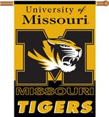 "COLLEGIATE Missouri 2-Sided 28"" x 40"" Banner"