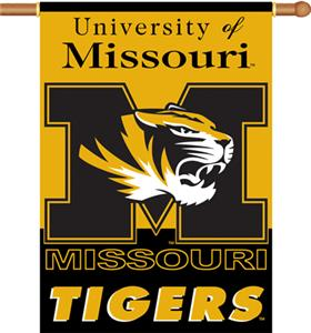 COLLEGIATE Missouri 2-Sided 28&quot; x 40&quot; Banner