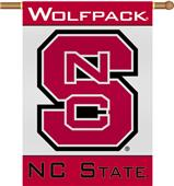 "COLLEGIATE N. Carolina St 2-Sided 28"" x 40"" Banner"