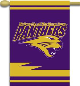 "COLLEGIATE Northern Iowa 2-Sided 28"" x 40"" Banner"