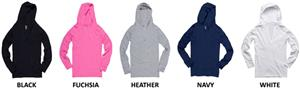 "Boxercraft Womens ""Give Me A V"" Hoodies"