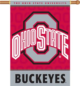COLLEGIATE Ohio State 2-Sided 28&quot; x 40&quot; Banner