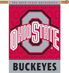 "COLLEGIATE Ohio State 2-Sided 28"" x 40"" Banner"