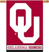 "COLLEGIATE Oklahoma 2-Sided 28"" x 40"" Banner"