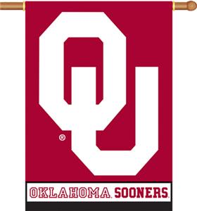 COLLEGIATE Oklahoma 2-Sided 28&quot; x 40&quot; Banner