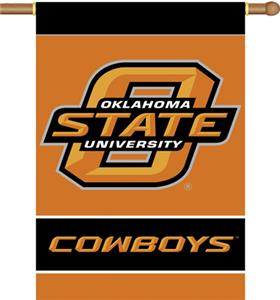 "COLLEGIATE Oklahoma State 2-Sided 28"" x 40"" Banner"