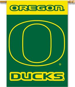 "COLLEGIATE Oregon 2-Sided 28"" x 40"" Banner"
