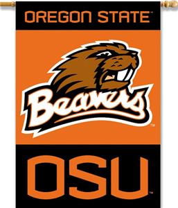 COLLEGIATE Oregon State 2-Sided 28&quot; x 40&quot; Banner