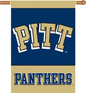 COLLEGIATE Pittsburgh 2-Sided 28&quot; x 40&quot; Banner
