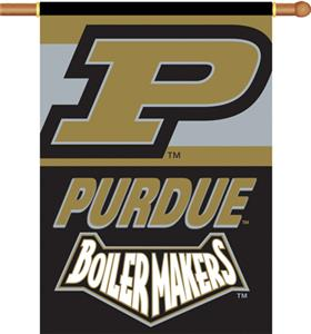 "COLLEGIATE Purdue 2-Sided 28"" x 40"" Banner"