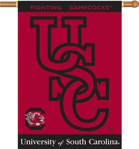 COLLEGIATE South Carolina 2-Sided 28&quot; x 40&quot; Banner