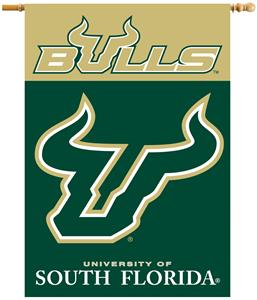 "COLLEGIATE South Florida 2-Sided 28"" x 40"" Banner"