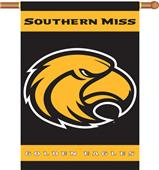"COLLEGIATE Southern Miss 2-Sided 28"" x 40"" Banner"