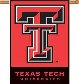 "COLLEGIATE Texas Tech 2-Sided 28"" x 40"" Banner"