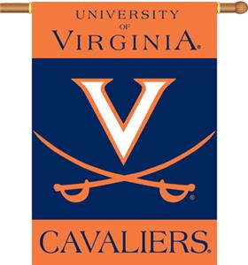 "COLLEGIATE Virginia 2-Sided 28"" x 40"" Banner"