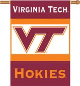 "COLLEGIATE Virginia Tech 2-Sided 28"" x 40"" Banner"