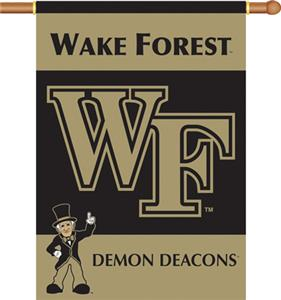 "COLLEGIATE Wake Forest 2-Sided 28"" x 40"" Banner"