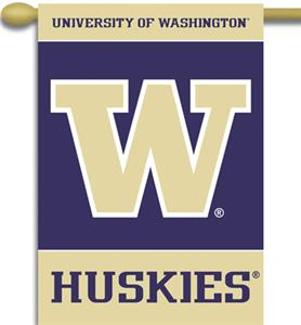 "COLLEGIATE Washington 2-Sided 28"" x 40"" Banner"