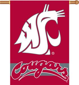 "COLLEGIATE Washington St. 2-Sided 28"" x 40"" Banner"