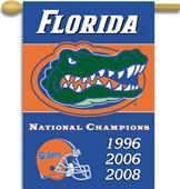 "COLLEGIATE Florida Champ 2-Sided 28"" x 40"" Banner"