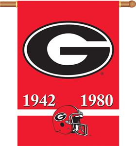 "COLLEGIATE Georgia Champ 2-Sided 28"" x 40"" Banner"