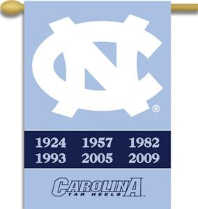 "COLLEGIATE North Carolina 2-Sided 28"" x 40"" Banner"