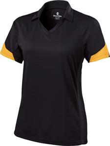 Holloway Ambition Ladies Textured Stripe Polo