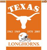 "COLLEGIATE Texas Champ 2-Sided 28"" x 40"" Banner"