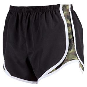 Womens Novelty Velocity Camo Print Shorts