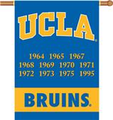 "COLLEGIATE UCLA Champ 2-Sided 28"" x 40"" Banner"