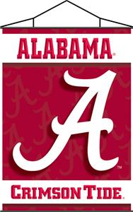 COLLEGIATE Alabama Indoor Banner Scroll