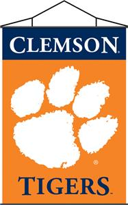 COLLEGIATE Clemson Indoor Banner Scroll