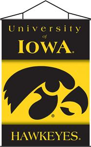 COLLEGIATE Iowa Indoor Banner Scroll
