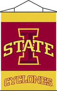 COLLEGIATE Iowa State Indoor Banner Scroll