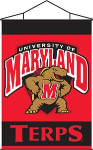 COLLEGIATE Maryland Indoor Banner Scroll