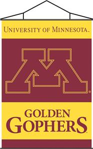 COLLEGIATE Minnesota Indoor Banner Scroll