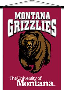 COLLEGIATE Montana Indoor Banner Scroll