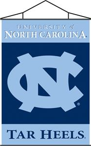 COLLEGIATE North Carolina Indoor Banner Scroll