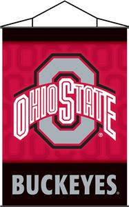 COLLEGIATE Ohio State Indoor Banner Scroll