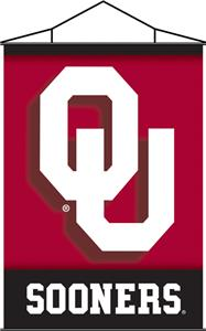 COLLEGIATE Oklahoma Indoor Banner Scroll