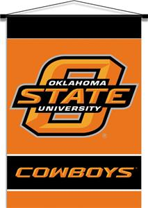 COLLEGIATE Oklahoma State Indoor Banner Scroll