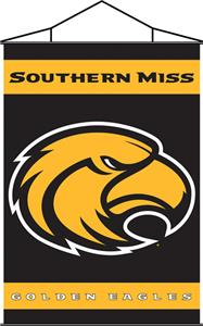COLLEGIATE Southern Miss Indoor Banner Scroll