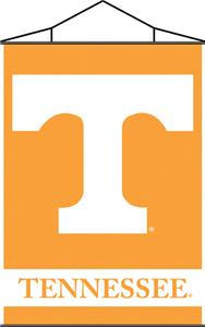 COLLEGIATE Tennessee Indoor Banner Scroll