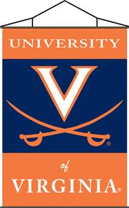 COLLEGIATE Virginia Indoor Banner Scroll